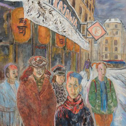 Callum Fraser, Ouverte, Snowbound Night-Lifers, 2018