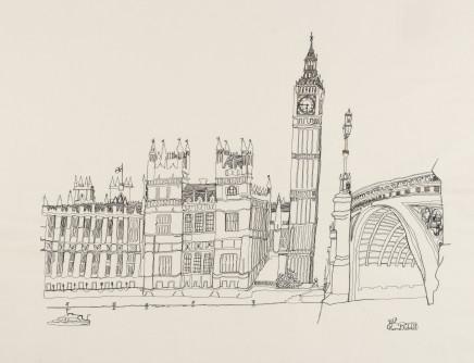 Harriet Riddell, Westminster Bridge, 2017