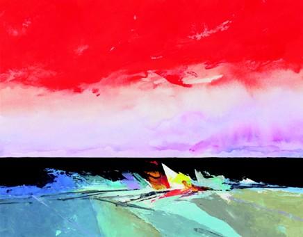 Donald Hamilton Fraser, Evening Beachscape, 2007