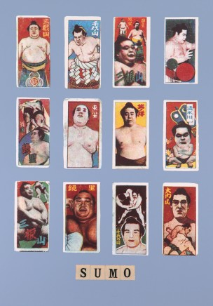 Sir Peter Blake, S is for Sumo, 1991