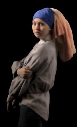Daniel Warnecke, Girl with a Pearl Earring, 2015