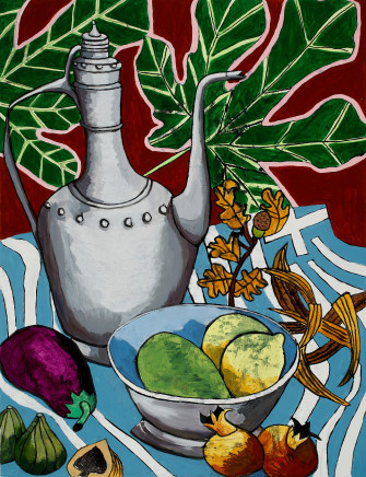 Zoë Callaghan, Greek Still Life with Xanthic, 2018