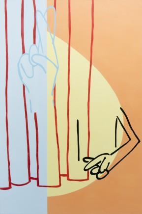 Genevieve Slater, Untitled (Egg Sunrise/Fingers Crossed), 2016