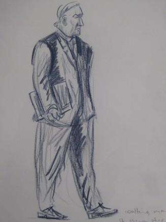 Ed Gray, Trader St Mary Axe, City of London, 2012