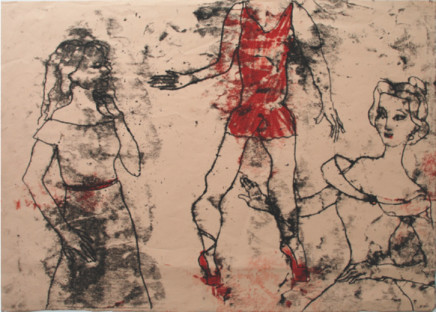 Roberta Kravitz, Dancers Monotype (2)