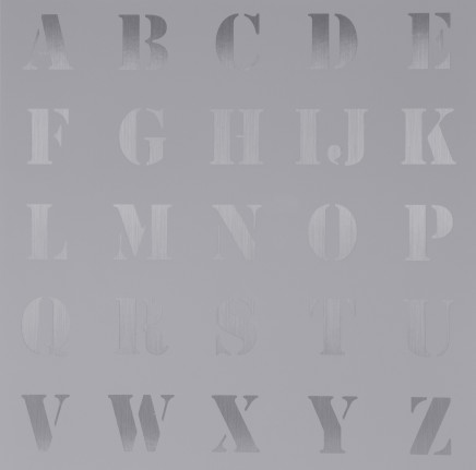 Sir Peter Blake, Appropriated Alphabets 5, 2013
