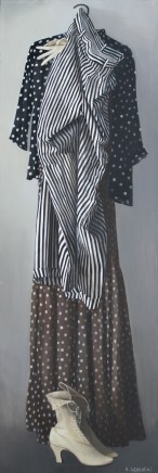 Katya Levental, Dots and Stripes, 2009