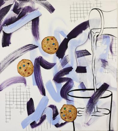 Emilie Fitzgerald, Milk 'n' Cookies, 2019