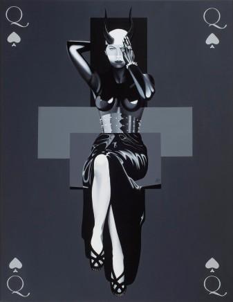 Alain Magallon, Queen of Spades, 2016