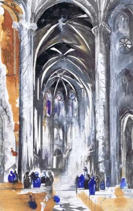 Lily Forwood, Inside Notre Dame de Paris, 2016