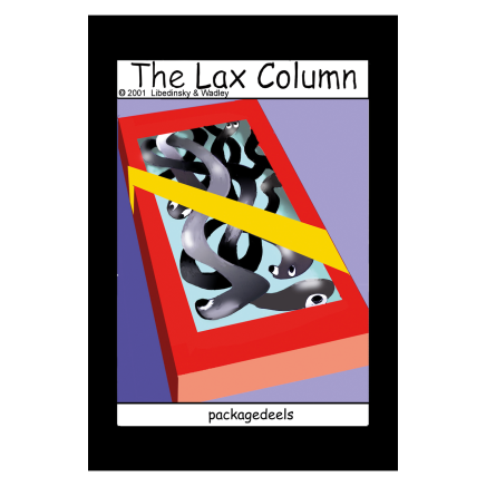 Sylvia Libedinsky, The Lax Column - packagedeels