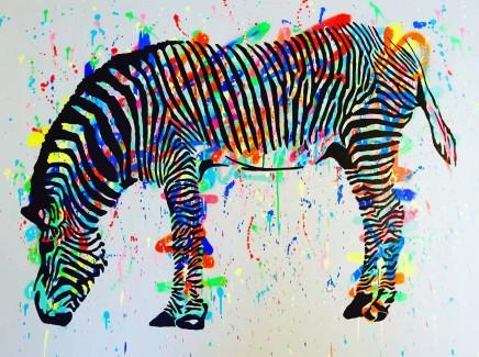 Humphrey Dettmer, Hungry Zebra, 2016