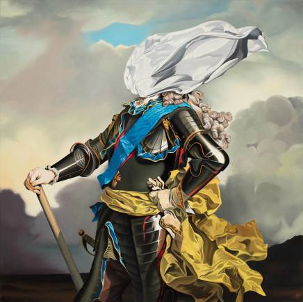 Alain Magallon, King Cloth, 2019