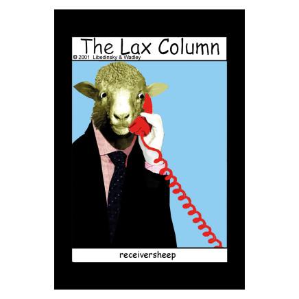 Sylvia Libedinsky, The Lax Column - receiversheep