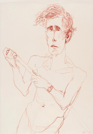 Roberta Kravitz, Man with Watch