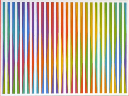 Raymond Brownell, 13 Colours, Each With Every Other, Once, No.4