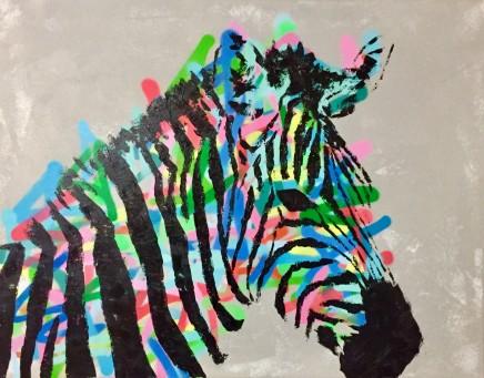 Humphrey Dettmer, Grey Zebra Head, 2017