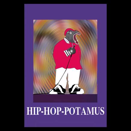 Sylvia Libedinsky, Musical Animals Series - hip-hop-potamus