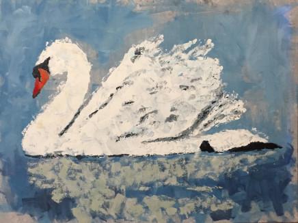 Humphrey Dettmer, Drifting Swan, 2017
