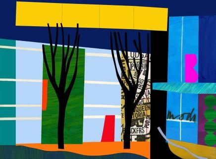 Bruce McLean, Designer Trees, 2011