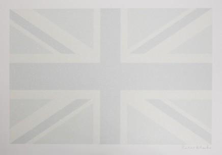 Sir Peter Blake, Union Flag (Greyscale), 2016
