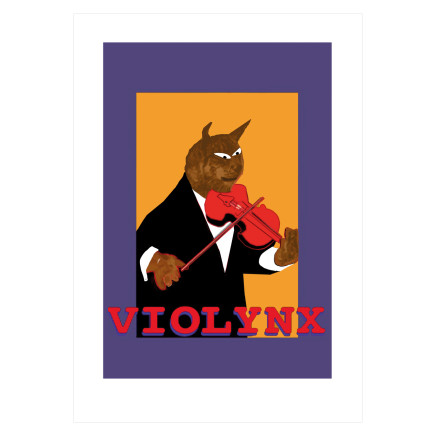 Sylvia Libedinsky, Musical Animals Series - violynx