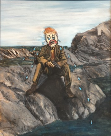 Alice Wisden, On the Rocks, 2016
