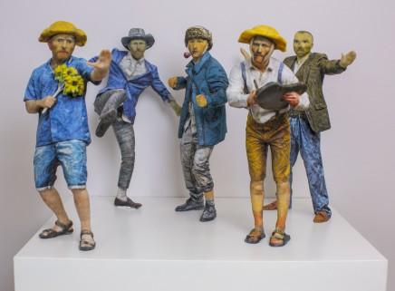 Daniel Warnecke, Van Gogh Self Conflict, 2016