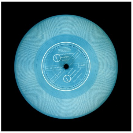 Richard Heeps and Natasha Heidler, This is a Free Record (Teal), 2014
