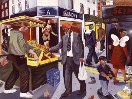 Ed Gray, Berwick Street, 2004