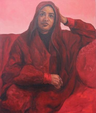Gabriel Choto - Camberwell College of Arts, UAL, Portrait of Zeinab Saleh, 2017