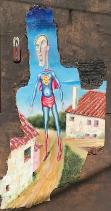 Carlos Cortes, Superman in Seno, 2017