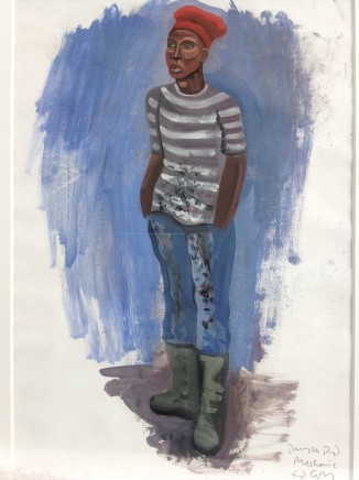 Ed Gray, The Mechanic, Zampa Road SE16, 2014