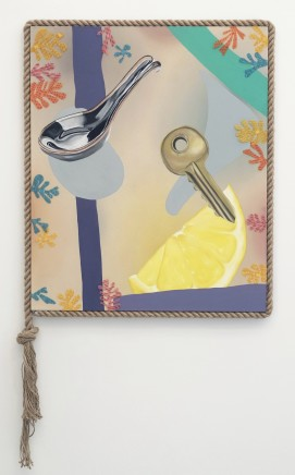 Savannah Grieve, Still Life with Rope Frame, 2018