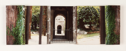 Claudine Roux, Cemetery in Old Jewish Ghetto 1989, Budapest, 2018