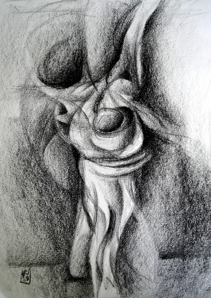 Armando Alemdar Ara, The Embrace (Study)