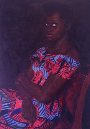 Gabriel Choto - Camberwell College of Arts, UAL, Lady in the African Dress , 2017