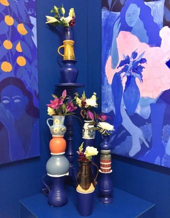 Florence White, Blue Vases, 2019