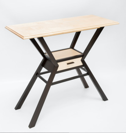 Irene Banham - Williams and Cleal: Furniture School, Prisma Console Table