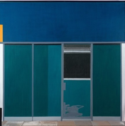 Paul Ashurst, Waterloo Mondrian (Green), 2015-16