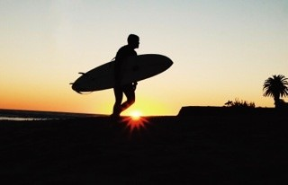 Brad Hobbs, Topanga State Surf Beach, 2015