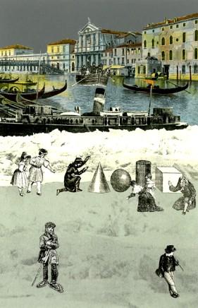 Sir Peter Blake, Iceberg II - Venice Suite, 2009