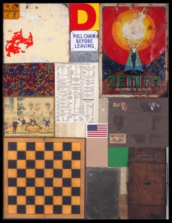 Sir Peter Blake, Homage to Rauschenburg II