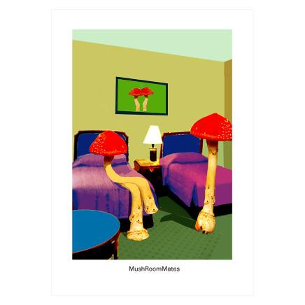 Sylvia Libedinsky, DoubleTakeAway Series - MushroomMates
