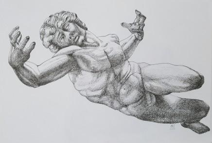 Armando Alemdar Ara, Prometheus (Homage to Michelangelo), 2015