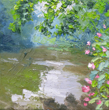 Colin Halliday, Summer River Study, 2016