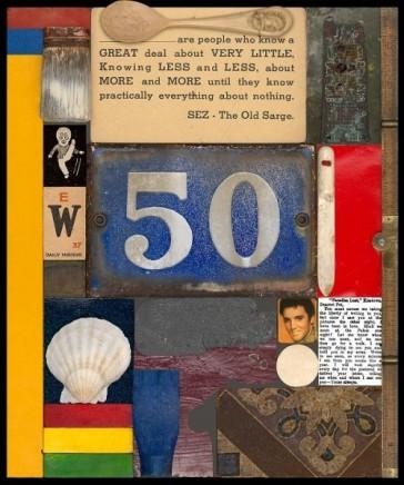 Sir Peter Blake, Wooden Puzzle Series- 50, 2013