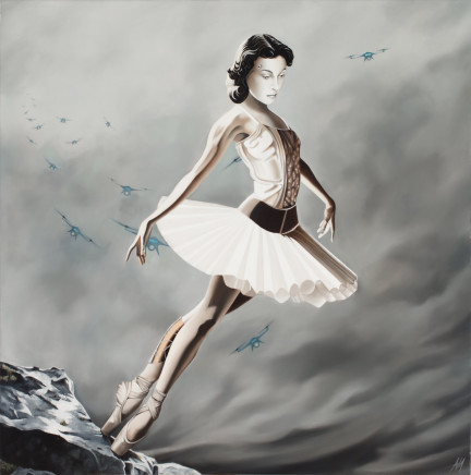 Alain Magallon, Gone with the Wind, 2017