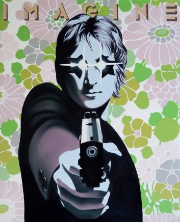 Alain Magallon, Imagine (John Lennon), 2015