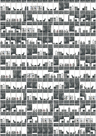 Sijie Liew - Camberwell College of Arts, UAL, Untitled (Office) , 2017